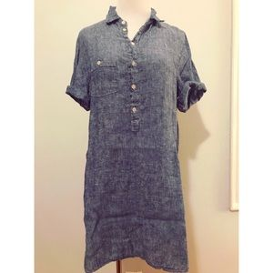 Free People x CP Shades Linen Tunic/Dress